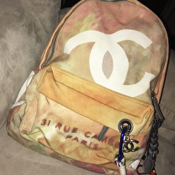 199847b4e972 CHANEL Bags | Graffiti Backpack | Poshmark